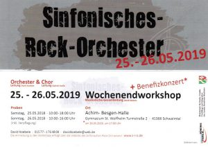 Sinfonisches-Rock-Orchester Workshop